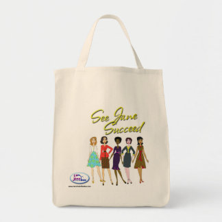 ¡Jane conseguida un bolso! Bolsa Tela Para La Compra