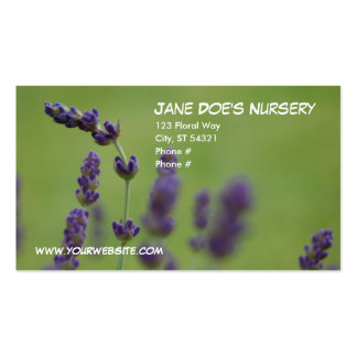 Jane Doe's Nursery Double-Sided Standard Business Cards (Pack Of 100)