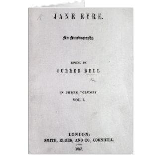 Jane Eyre' Card