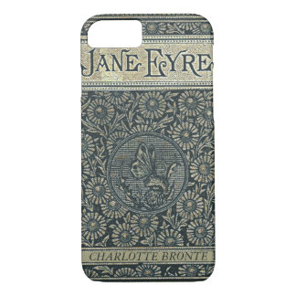 Jane Eyre Charlotte Bronte Antique Book iPhone 8/7 Case
