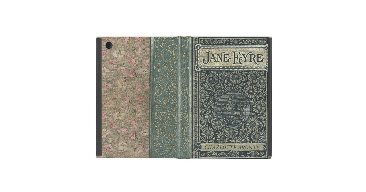 Classic Book Cover Ipad Mini ~ Jane eyre charlotte bronte old book cover covers for ipad