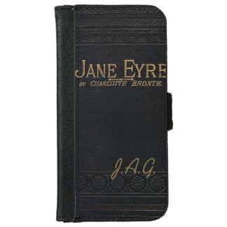 Jane Eyre Classic Antique Book Monogram iPhone 6/6s Wallet Case