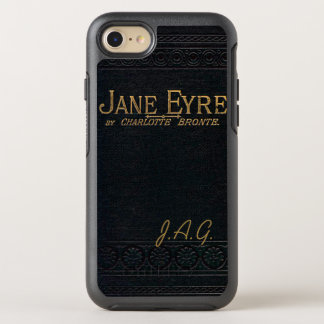 Jane Eyre Classic Antique Book Monogram OtterBox Symmetry iPhone 8/7 Case