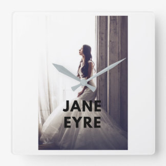 Jane Eyre clock on wall