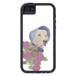 Jane Eyre, el golden retriever iPhone 5 Case-Mate Cárcasas