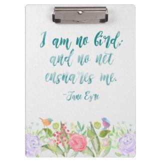Jane Eyre - I Am No Bird - Clipboard