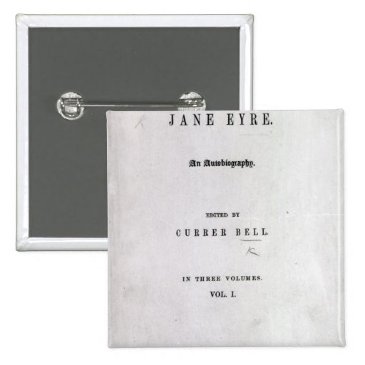 Jane Eyre Pin Cuadrado