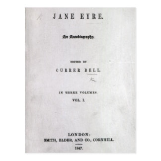Jane Eyre' Postcard