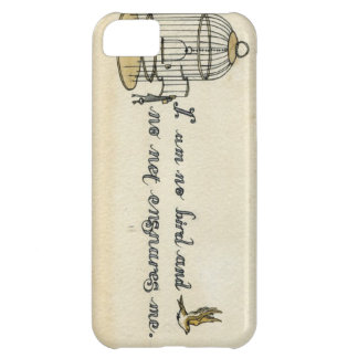 Jane Eyre quote case iPhone 5C Covers