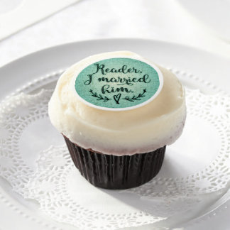 Jane Eyre Reader I Married Him Edible Frosting Rounds
