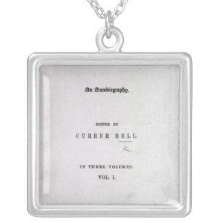 Jane Eyre' Square Pendant Necklace