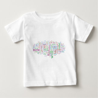 Jane Eyre Word Cloud Baby T-Shirt