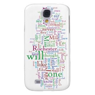 Jane Eyre Word Cloud Galaxy S4 Case
