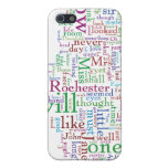 Jane Eyre Word Cloud iPhone SE/5/5s Cover