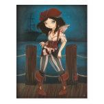 Jane - fantasy Fairy Pirate post card