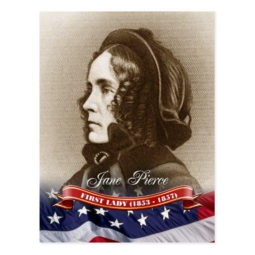 Jane Pierce, First Lady of the U.S. Postcard