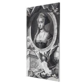Jane Seymour 2 Canvas Print