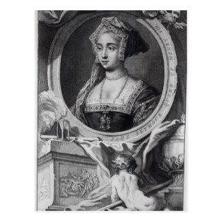 Jane Seymour 2 Postcard