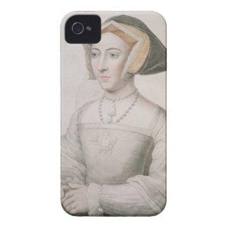 Jane Seymour (c.1509-37) engraved by Francesco Bar Case-Mate iPhone 4 Case