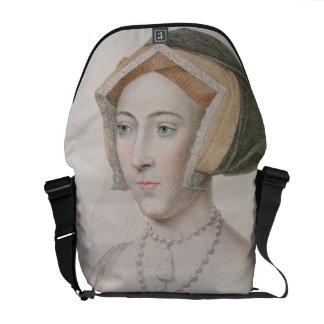 Jane Seymour (c.1509-37) engraved by Francesco Bar Courier Bag