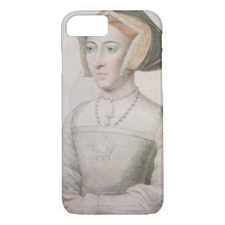 Jane Seymour (c.1509-37) engraved by Francesco Bar iPhone 8/7 Case