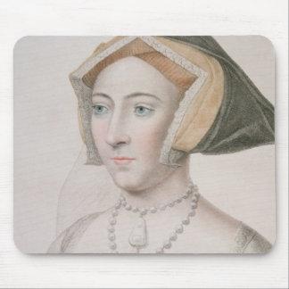 Jane Seymour (c.1509-37) engraved by Francesco Bar Mouse Pad
