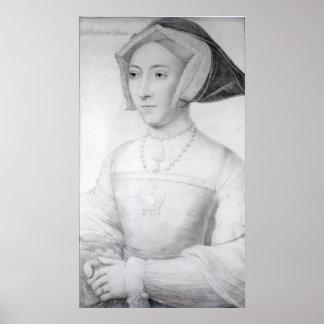 Jane Seymour, c.1536 Poster