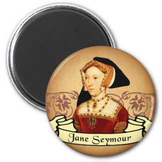 Jane Seymour Classic 2 Inch Round Magnet