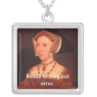 Jane Seymour Motto Necklace