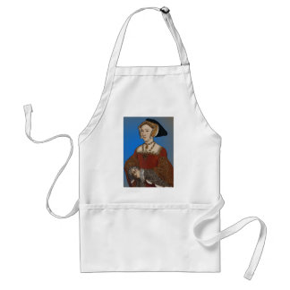Jane Seymour Queen of Henry VIII Of England Adult Apron
