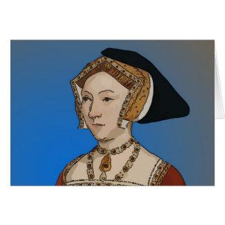 Jane Seymour Queen of Henry VIII Of England Greeting Card