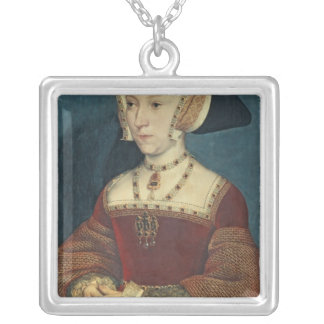 Jane Seymour Silver Plated Necklace
