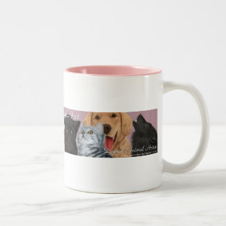 JaneEden animal art - mug