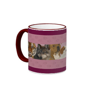 JaneEden animal art - mugs