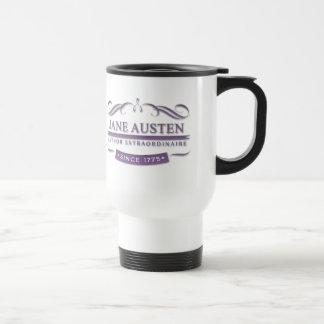 Janeite Jane Austen Author Extraordinaire 1775 Travel Mug