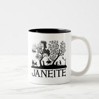Janeite Two-Tone Coffee Mug