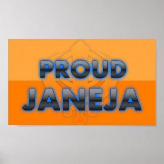 Janeja orgulloso orgullo de Janeja Posters