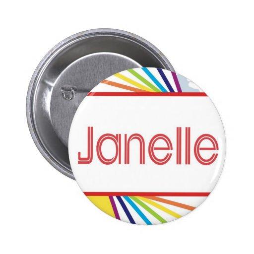 Janelle Pin Redondo 5 Cm
