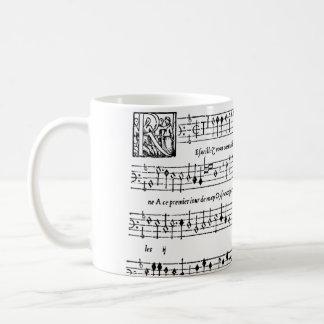 Janequin's Him Chant DES Oiseaux Classic White Coffee Mug