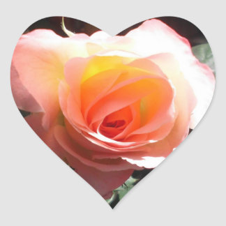 Janes Rose Heart Sticker