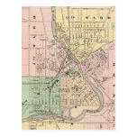 Janesville, county seat of Rock Co Postcards