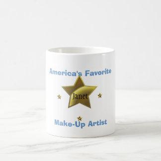 JANET: AMERICA'S FAVORITE MAKE-UP ARTIST COFFEE MUG