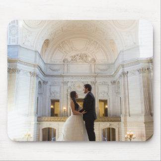 Janet + Max Wedding Mousepad