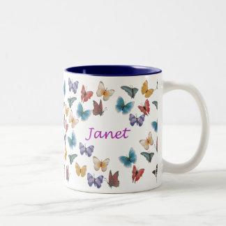 Janet Two-Tone Coffee Mug