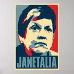"Janet Napolitano  ""Janetalia"" Obama Parody Poster"