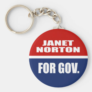 JANET NORTON FOR SENATE KEYCHAIN