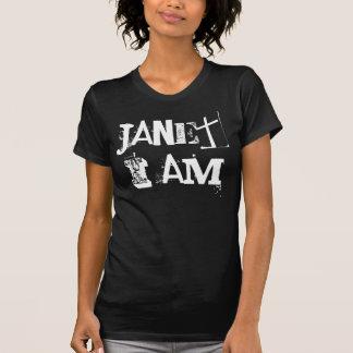 Janet soy enero que no estoy en blanco y negro camisas