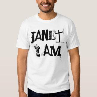 Janet soy enero que no estoy en blanco y negro polera