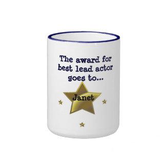 JANET: The Award For Best Lead Actress Ringer Mug