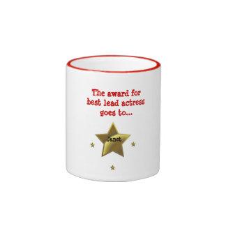 JANET: The Award For Best Leading Actress Ringer Mug